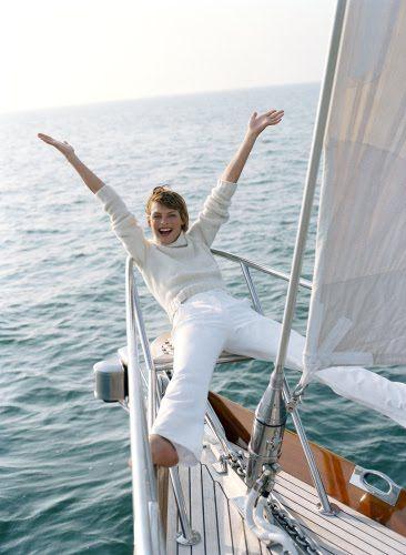 Habitually Chic®: Smooth Sailing