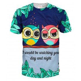 VALENTINE OWLS T-Shirt