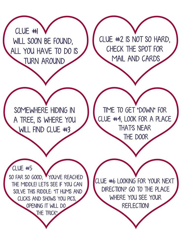 Valentine Scavenger Hunt for Kids (Free Printable!) I'm so excited to finally share this Valentine Scavenger Hunt for Kids with you!   Scavenger Hunts are such a fun way to let your kids (or your sweetheart) know you've thought about them enough to hide a gift and lead them to it.   The hunt just …