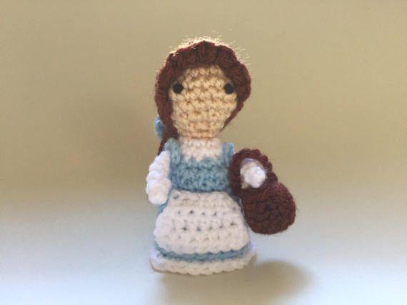Belle crochet DollHandmade Beauty and the Beast crochet