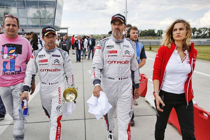 09- Sebastien Loeb - Citroen Total WTCC 68- Yvan Muller - Citroen Total WTCC