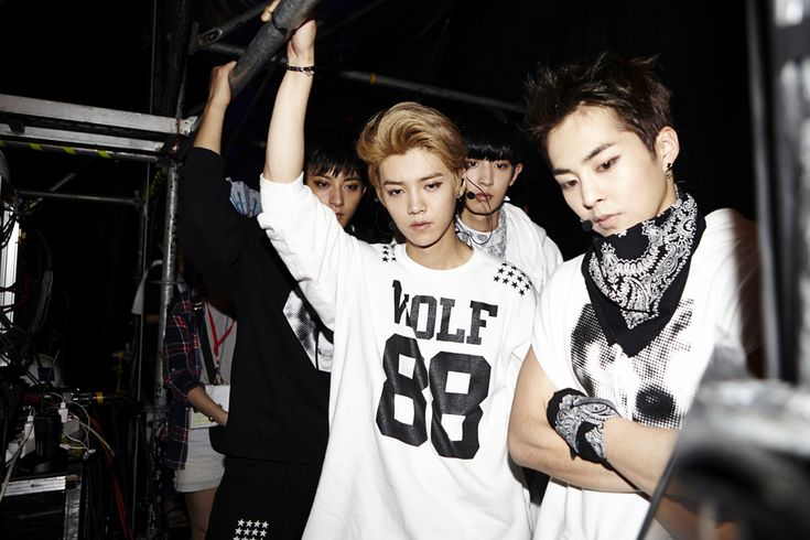 Luhan, Tao, Chanyeol, and Xiumin | official SMTOWNnow 140815 update 'SMTOWN Live World Tour IV in Seoul'
