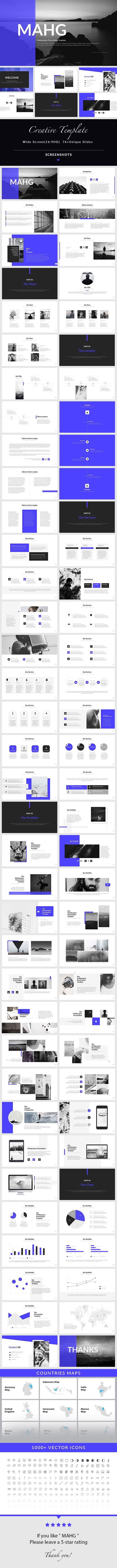 MAHG - #PowerPoint #Presentation Template - Creative PowerPoint Templates