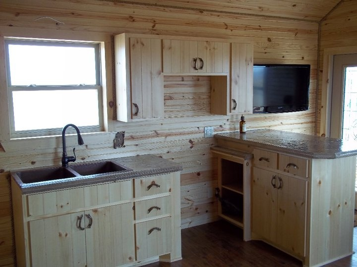 Permalink to Small Cabin Kitchens