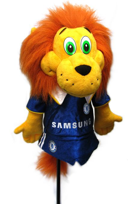CHELSEA Mascot Headcover. Official Licensed Chelsea golf gift. FREE DELIVERY ON ALL OF OUR GIFTS