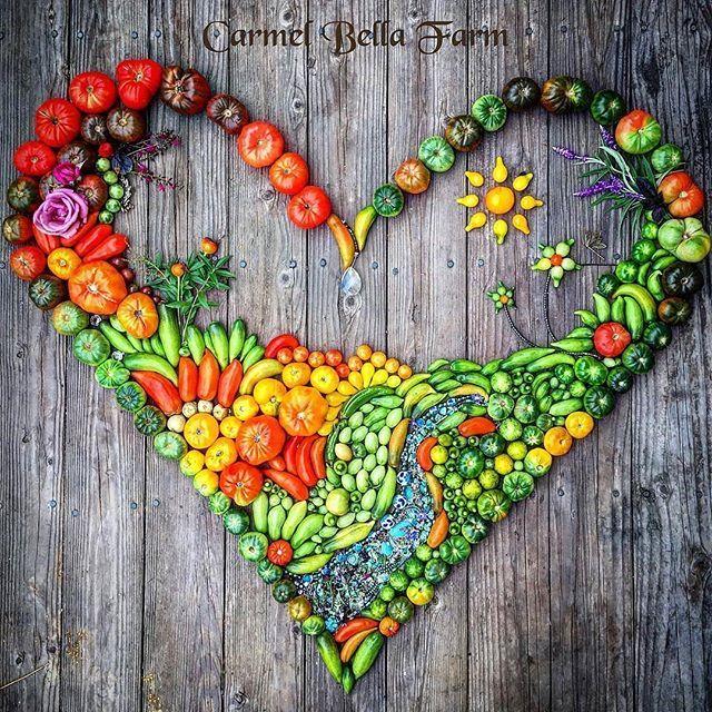 Amazing tomatoes artwork by the talented @carmelbellafarm Repost/ @carmelbellafarm Use #hydrovegan to be featured