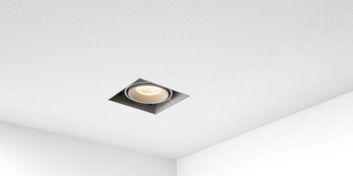 Oneon 2 Triml... QAZQA Modern Modern Recessed Spotlight Downlight White GU10