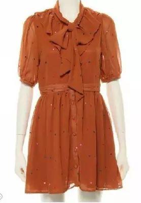 外贸原单 dazzlin 精工刺绣点点 飘带连衣裙 vivi 女装 特价-淘宝网