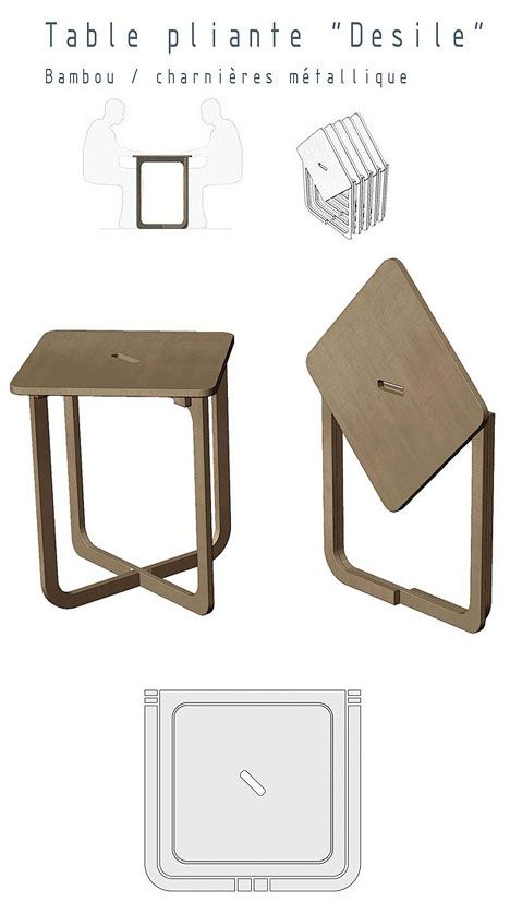 Fascinated with geometry, the French visual artist and photographer Christian Desile eventually began creating furniture. His Desile chair, above, caused quite the stir at Paris' 2009 Maison & Objet show; the designer seemingly came out of nowhere to win the Coup de Coeur award. The bamboo version above is intended...