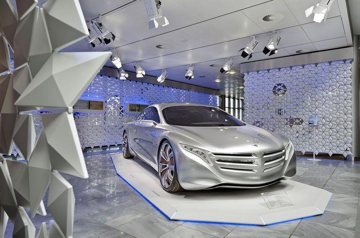 Future Now! Showroom Kundencenter Bremen Daimler AG spek Design