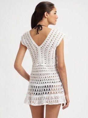 Вяжем крючком Пляжное платье Нужен совет мастер класс