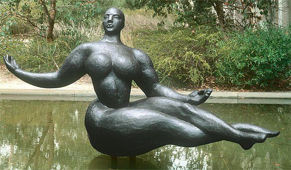 Gaston Lachaise, 'Floating figure', 1927, bronze, National Gallery of Australia, Canberra, Purchased 1978
