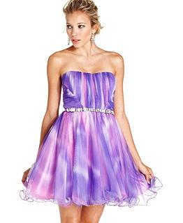 5641cdc6d Diamond Ring: Purple Dresses For Juniors Macy's