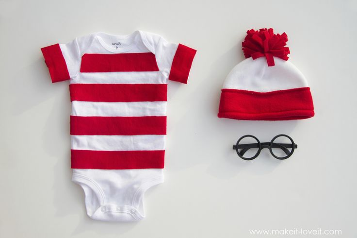 """A simple """"Where's Waldo"""" costume for kids and adults both!  60 minute project. --- Make It and Love It"""