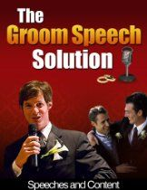 Groom Speech Solution