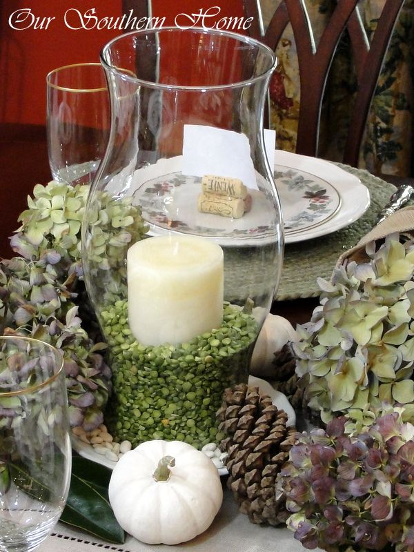Our Southern Home | Thanksgiving Tablescape | http://www.oursouthernhomesc.com