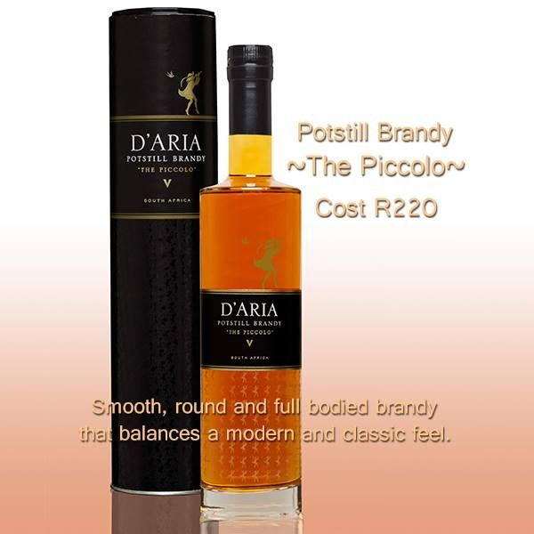 The only brandy produced in Durbanville! Robust and intense aromas of orange peel, hazel nut and nutmeg on the nose.