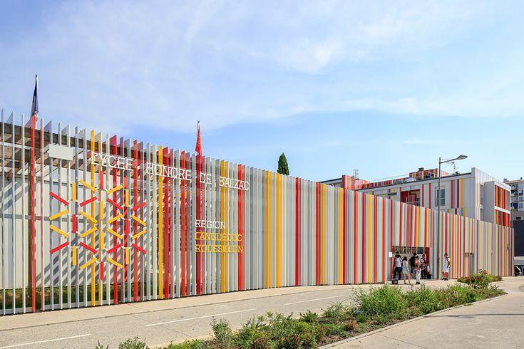 Galería - Escuela Secundaria Honoré de Balzac / NBJ architectes - 14