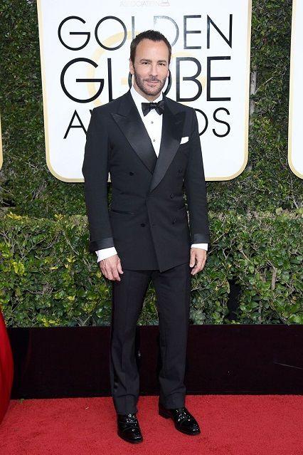Tom Ford ai Golden Globe Awards 2017 http://www.theauburngirl.com/best-dressed-of-the-weeks-golden-globes/