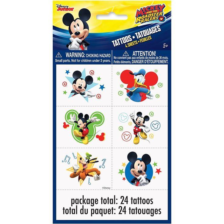 Mickey Mouse Temporary Tattoos, 24ct, Temporary Tattoos - Amazon Canada
