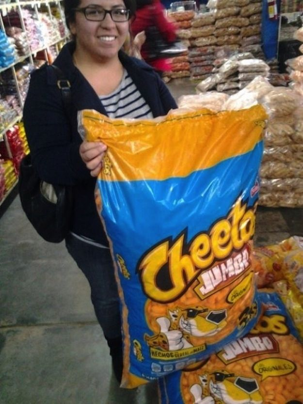 Wherever you can buy a GIANT BAG OF CHEETOS.