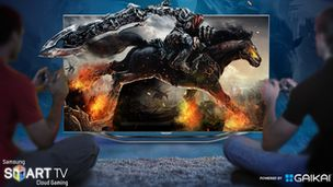 E3: Samsung signs Smart TV cloud gaming deal with Gaikai. #samsung #smarttv #gaming #gaikai