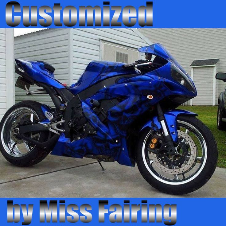Miss fairing customized abs motorcycle injection fairing for Yamaha motorcycles for women