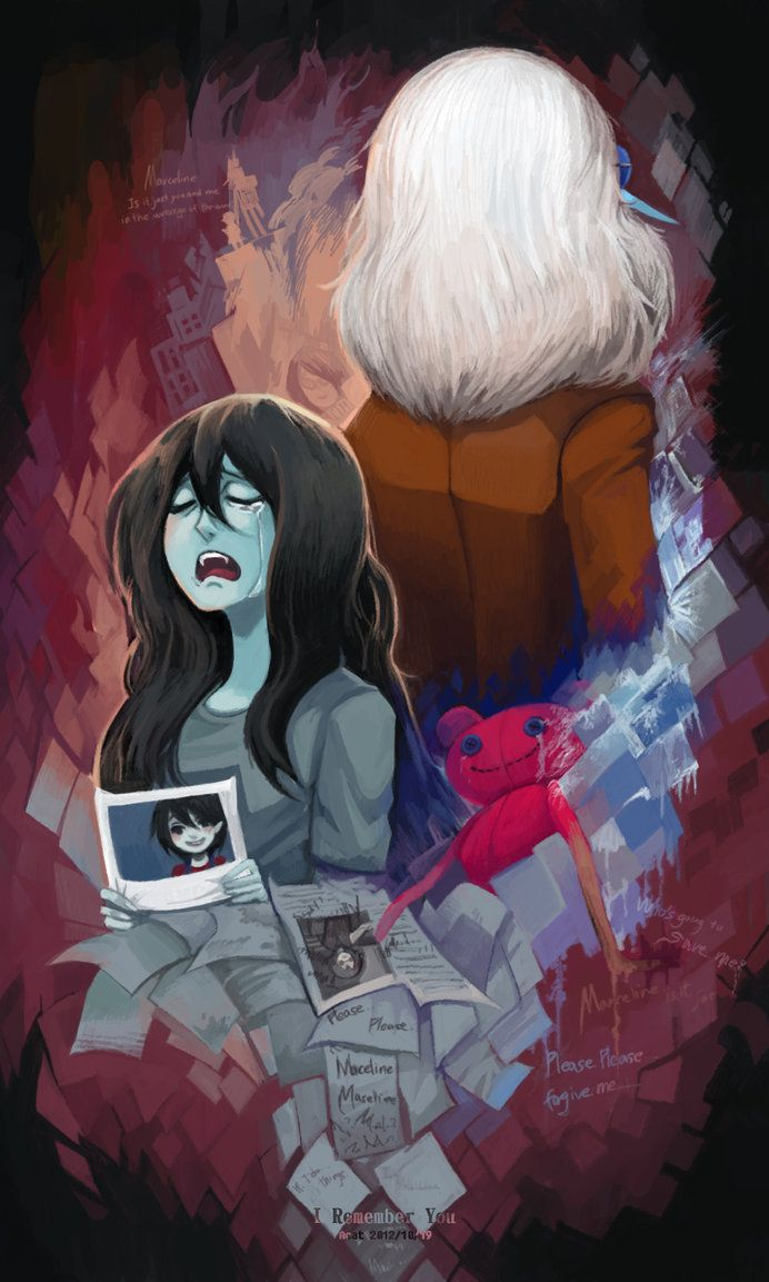 Marceline and Simone adventure time I remember you.