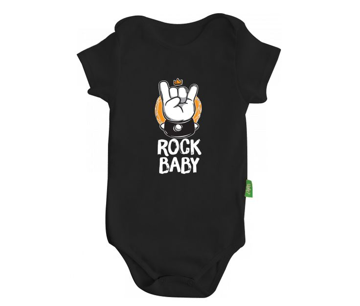 Body bebê - rock baby | Uatt? Presentes Para Todo Mundo