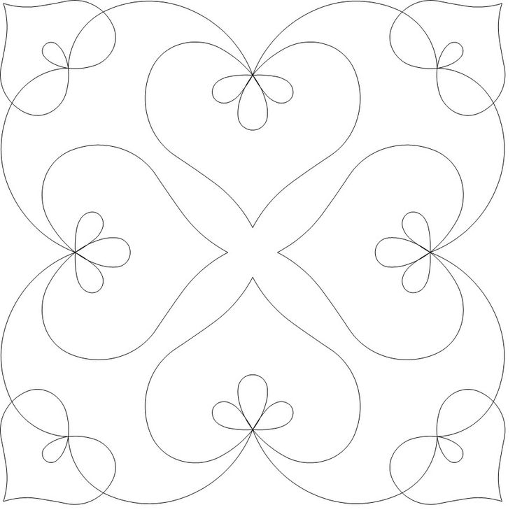 Hand Quilting Heart Patterns : 1000+ ideas about Hand Quilting Patterns on Pinterest Quilting stencils, Quilts and Hand quilting
