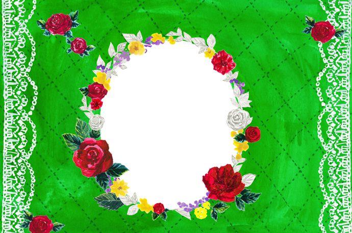#広告 #花 #flower #デザイン #お洒落 #可愛い  #illustration #kanakobayashi #art #illust #パッケージ #pattern #柄 #模様 #秋 #シック  #fashion #フレーム #frame