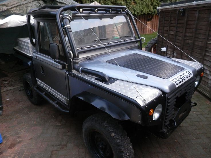 Original defender 90 200 TDI engine (not Discovery) Starts first time, every time. Land Rover Defender 90 Trayback. Built from the ground up, re-chassis using a Defender TD5. All professionally welded. | eBay!