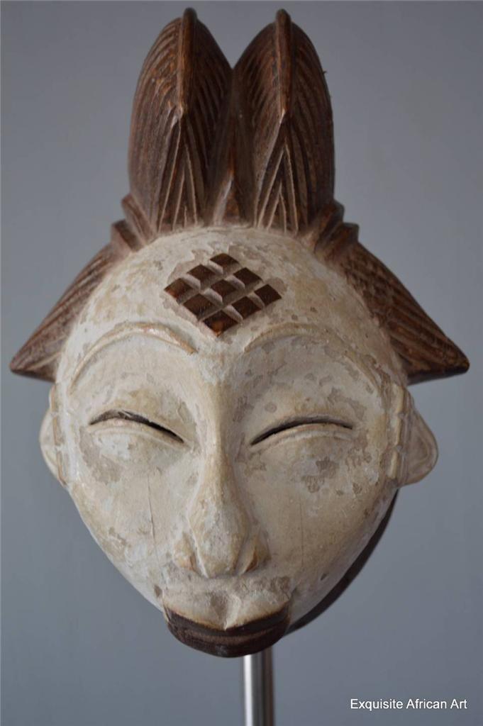 Punu Passport Mask - Exquisite African Art