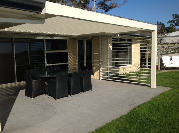 Our state of the art design, with tailored automation mean outdoor entertaining need not be limited to seasonal conditions either.  Your safety and that of your loved ones, is important to us too.  No need to worry about harmful UV rays, our louvres have you covered.