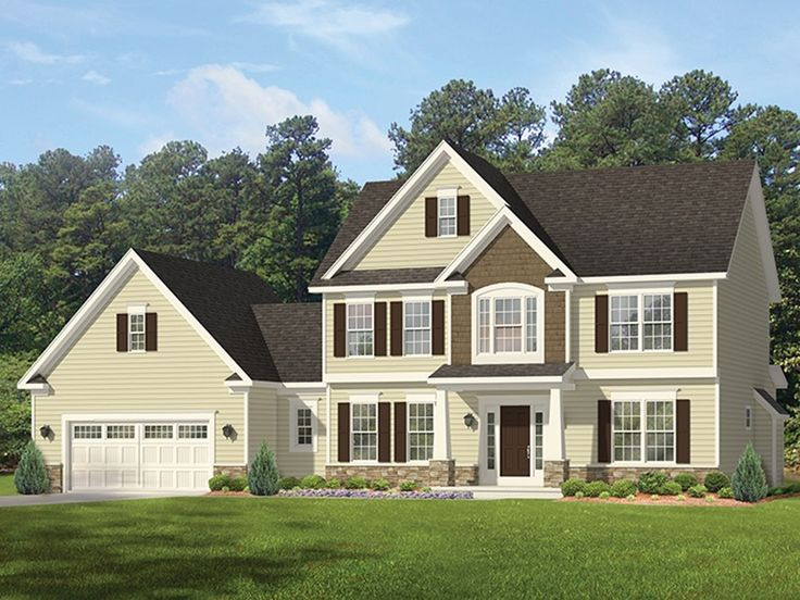 Eplans colonial house plan splendid family colonial for 2700 sq ft house plans