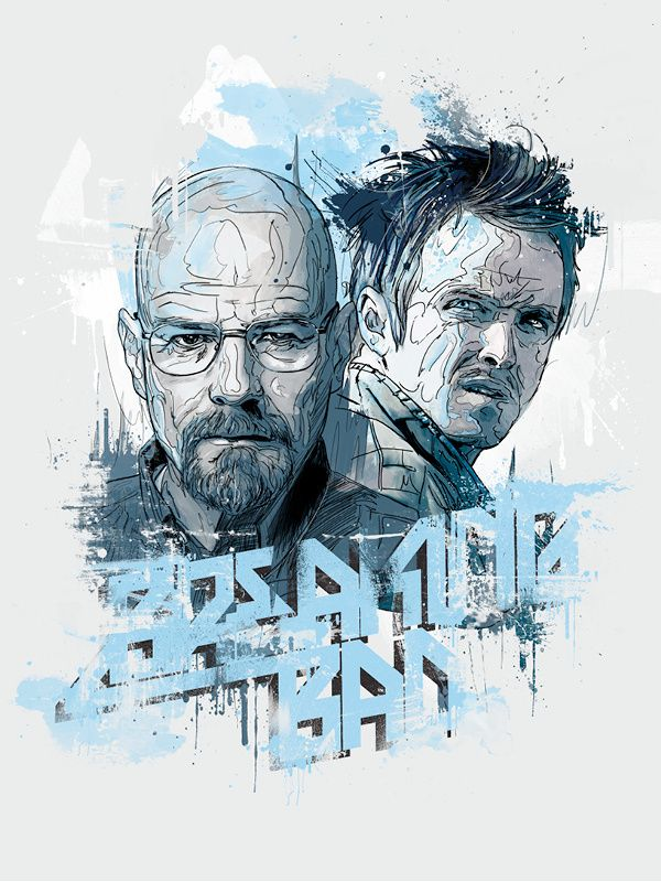 AMC, artwork, breaking bad, creative, Illustration, Inspiration, tv show, Breaking Bad Poster