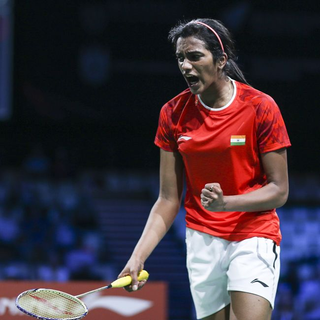 MACAU WIN! With over 4 hours of badminton played, P. V. Sindhu takes the win at the 2014 Macau Open! She experienced a few close battles in early play but prevailed to win over the crowd and took Gold with a 21-12, 21-17 trouncing over Korea's Kim Hyo Min. For premium quality, high tech, cutting edge Li-Ning badminton products see your local dealer or visit www.shopbadmintononline.com #MakeTheChange!