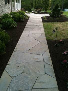 walkway designs and patio designs patio flagstone walkway design ideas pictures remodel - Flagstone Walkway Design Ideas