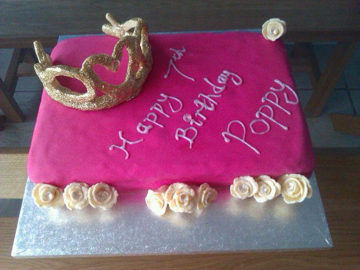 Chocolate tiara cake