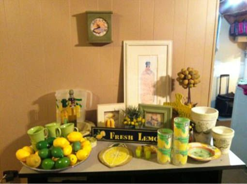 Lemon And Lime Kitchen Decorations