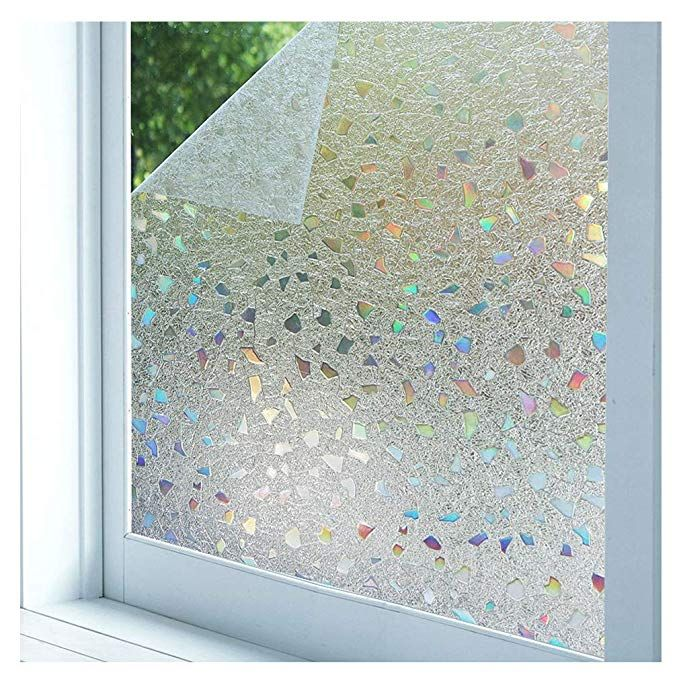 Vinyl Stained Glass Window Film.Bloss 3d Static Cling Window Film Stained Glass Window Film