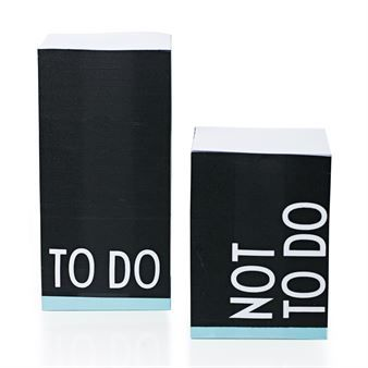 Design Letters Bürozubehör - Post-Its Not To Do - Design Letters
