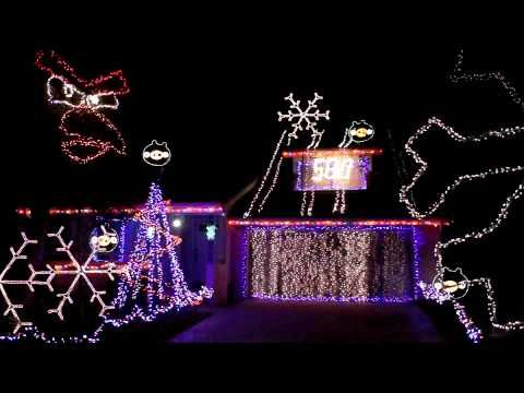 LOVE IT! christmas lights angry birds style