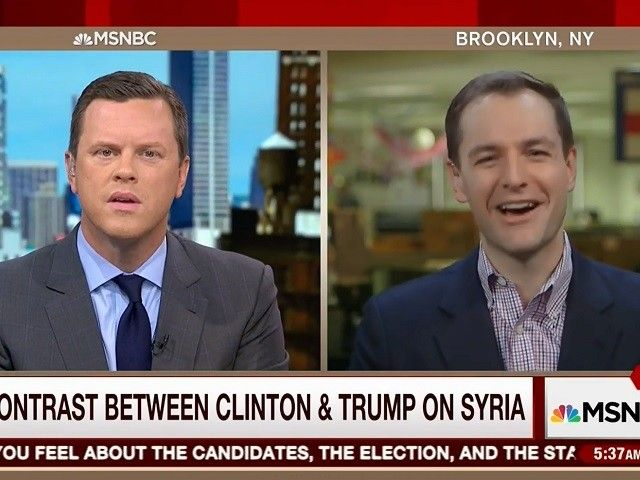 """09/21/16 Mook Dodges on Clinton's Syria Policy, MSNBC Panel Responds, 'Why Do We Have You Here?' ~ Mook, when questioned further: """"Well, first of all, she needs to—she has said that she will work with our allies to dismantle their safe harbor in Syria and Iraq. She will harden our defenses here at home, and she will dismantle their network around the world, & a lot of that's going to happen in the—in cyberspace, & through digital communications. So, you can go on our website & read the…"""