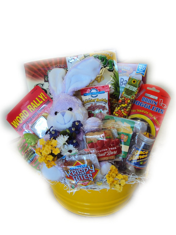 14 best healthy easter basket gift ideas images on pinterest easter healthy snacks goody basket negle Image collections