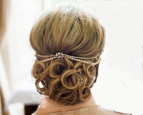 Wedding Hair Combs - Double Drop Pearl And Crystal Wedding Headpiece, Meredith