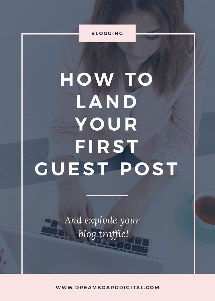 How To Land your First Guest Post And Explode Your Blog Traffic. 4 steps to landing your first guest post, sharing your knowledge and passion with a wider audience and getting traction and traffic back to your own blog. Harness guest posts as list building tools as well as establishing your authority in your niche. Click here to read more and download the free email swipe file!