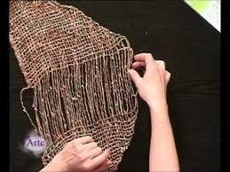 Resultado de imagen para tejido telar triangular