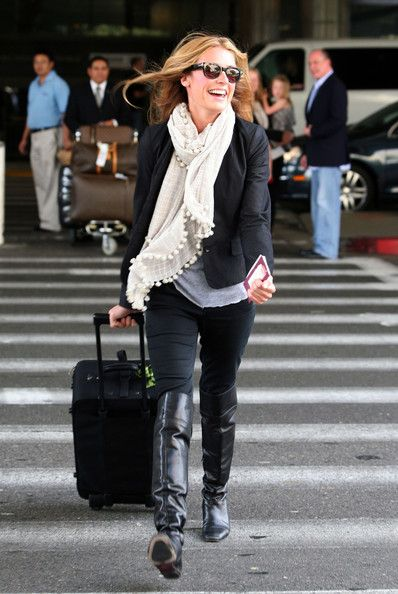 Cat Deeley - Cat Deeley at LAX