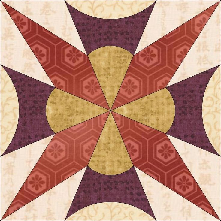 Country Rose Quilts: Wiener Walzer Viennese Waltz - Free Pattern Johann Strauss jun. (C) Country Rose Quilts